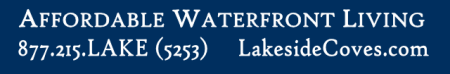 Affordable waterfront banner