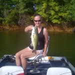 Christy Dowdy bass 3 lbs 10 oz