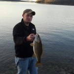 Josh Long Bank Fishing Dale Hollow Lake