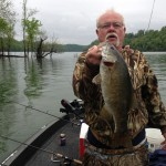 Kyle Faehrs dad with 22 in smallmouth