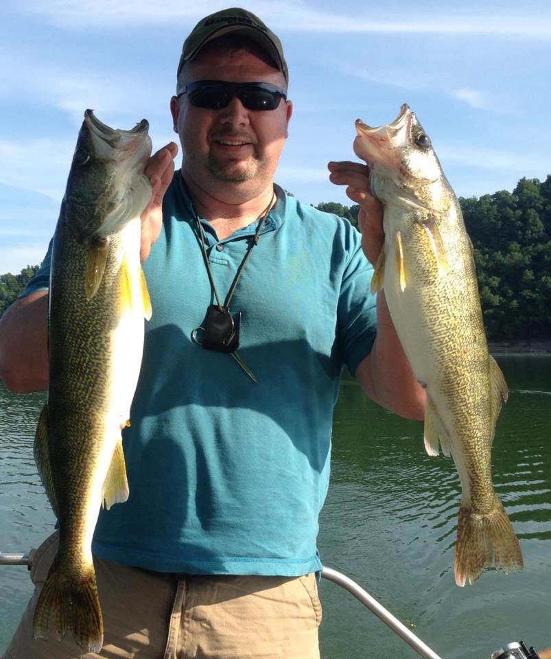 Scott burgess on center hill 15 june 2013 for Center hill lake fishing report