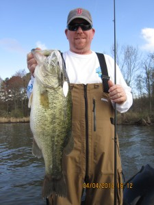 Chris Baker on Guntersville