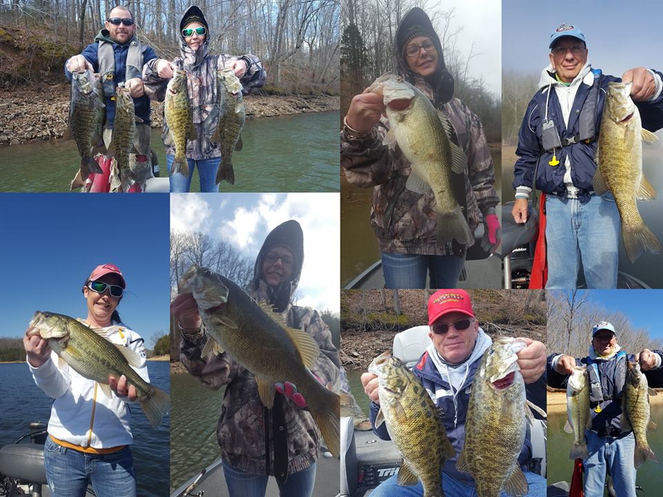 Tim s ford fishing report 12 mar 2017 for Tennessee fishing report