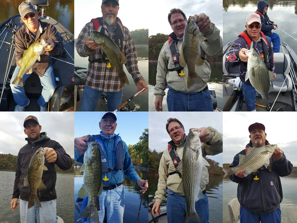Tims ford fishing report 14 nov 2016 for Tims ford lake fishing report