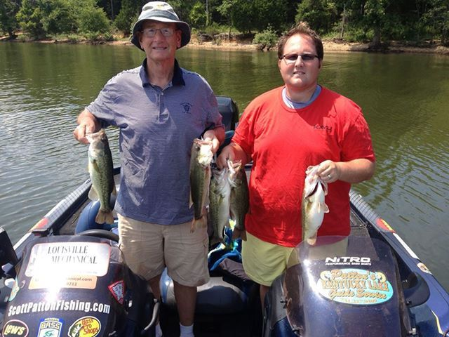 7 24 13 kentucky lake guide for Kentucky fishing report