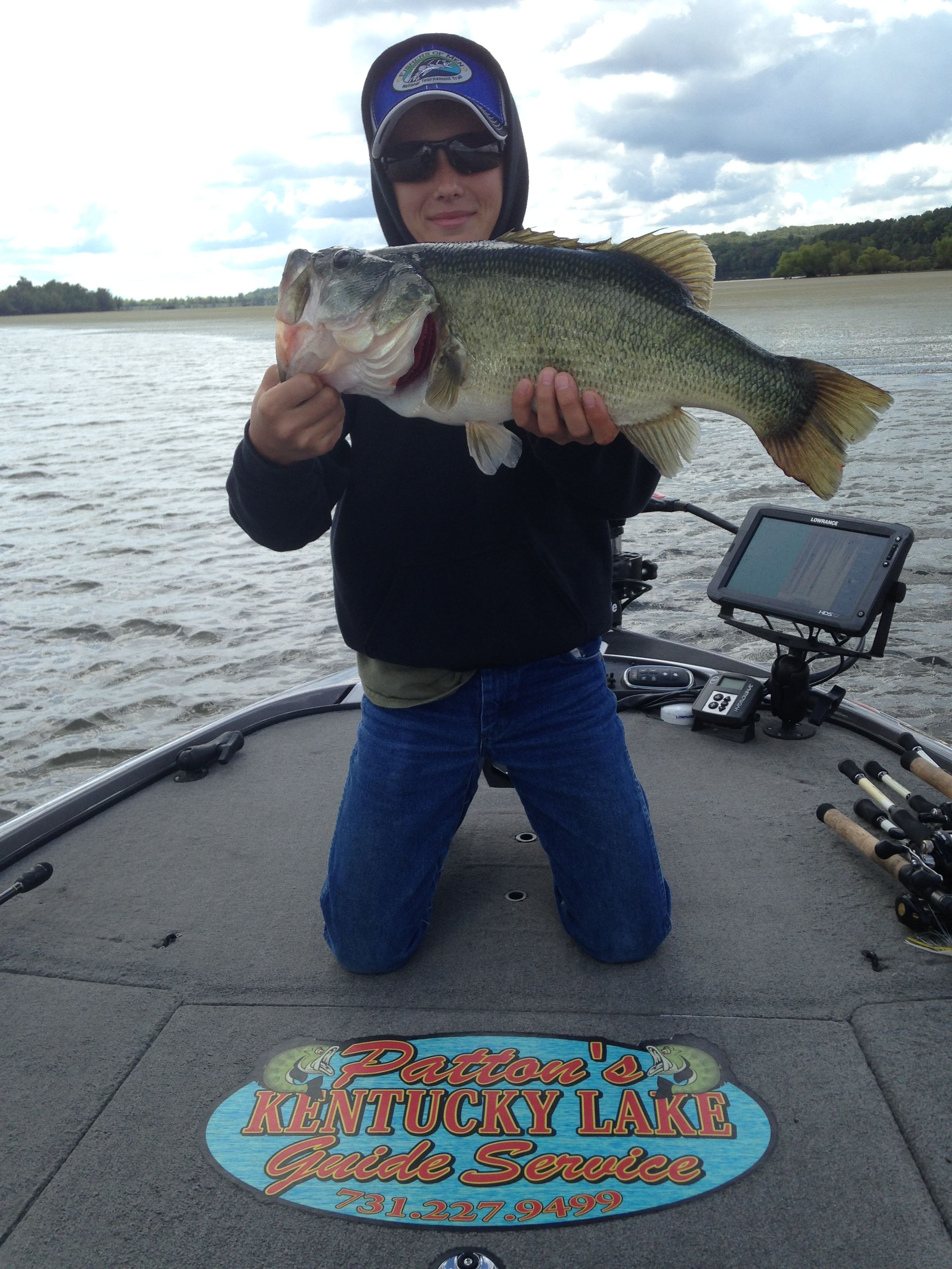 Ky lake guide 12 oct 2015 1 for Kentucky lake fishing report