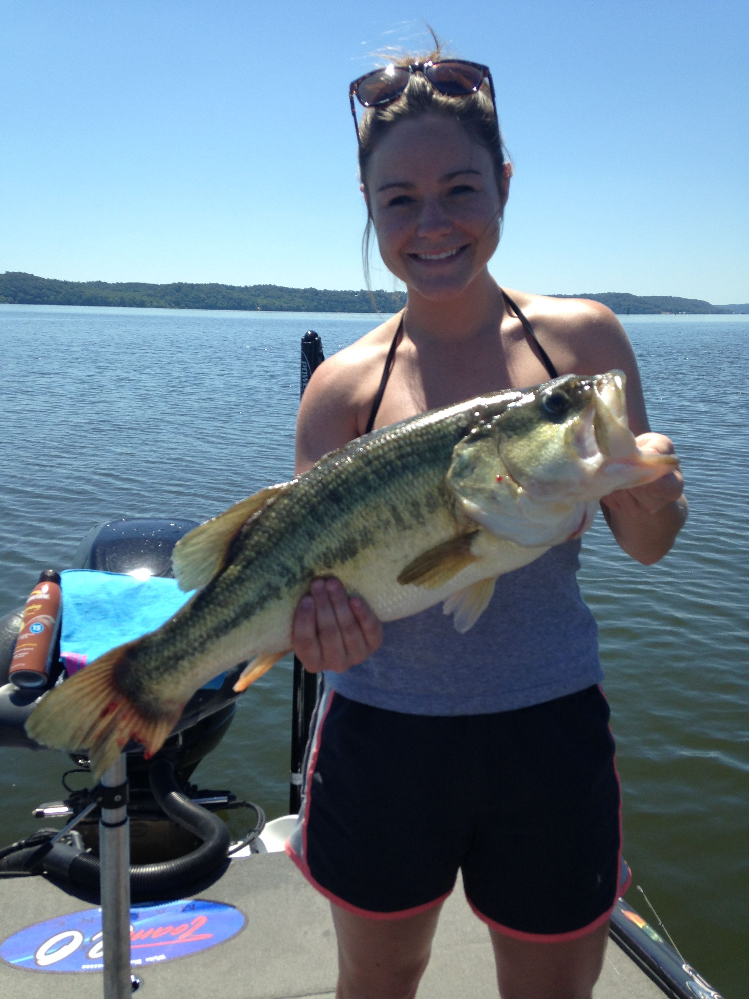 Kentucky lake guide 7 8 16 1 for Kentucky fishing report