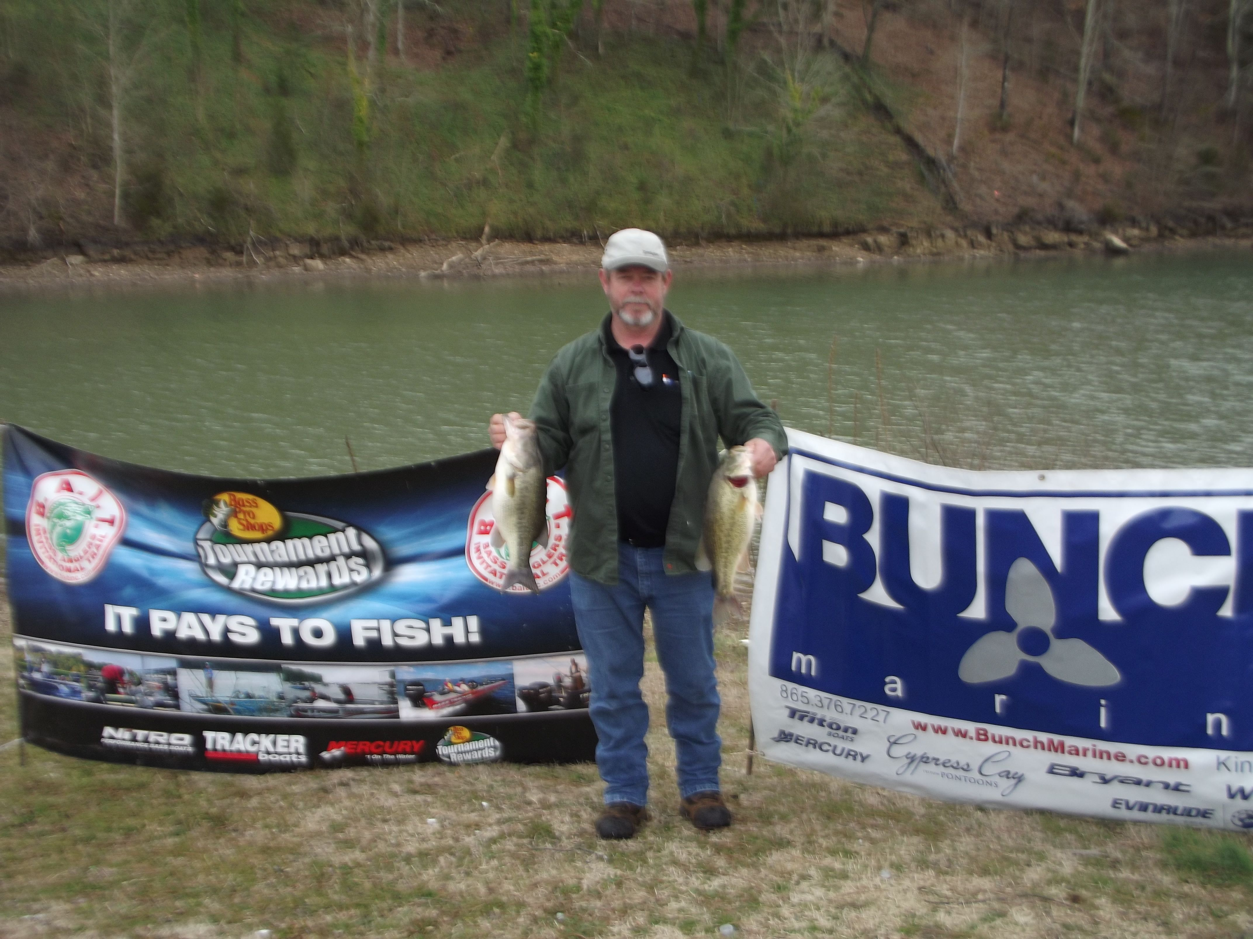 Jerry's Bait Shop Rockwood TN http://tnfishingreport.com/tournaments-and-results/tournament-results/bait-tn-ii-chickamauga-2-23-13/