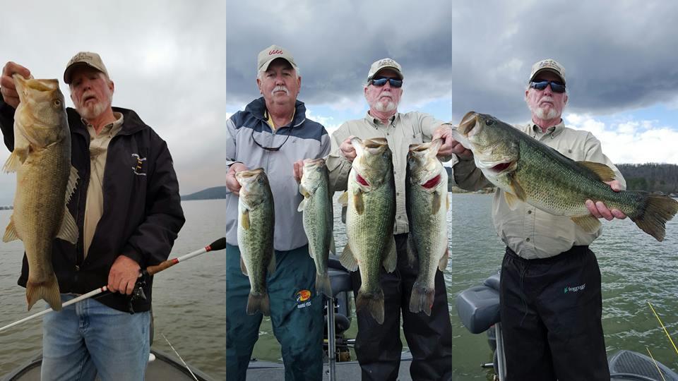 Guntersville lake 14 mar 2016 for Lake guntersville bass fishing report
