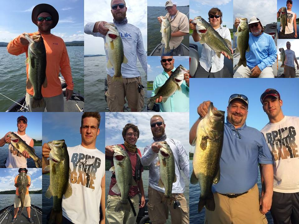 Guntersville lake 21 22 june 2016 for Fishing report lake guntersville