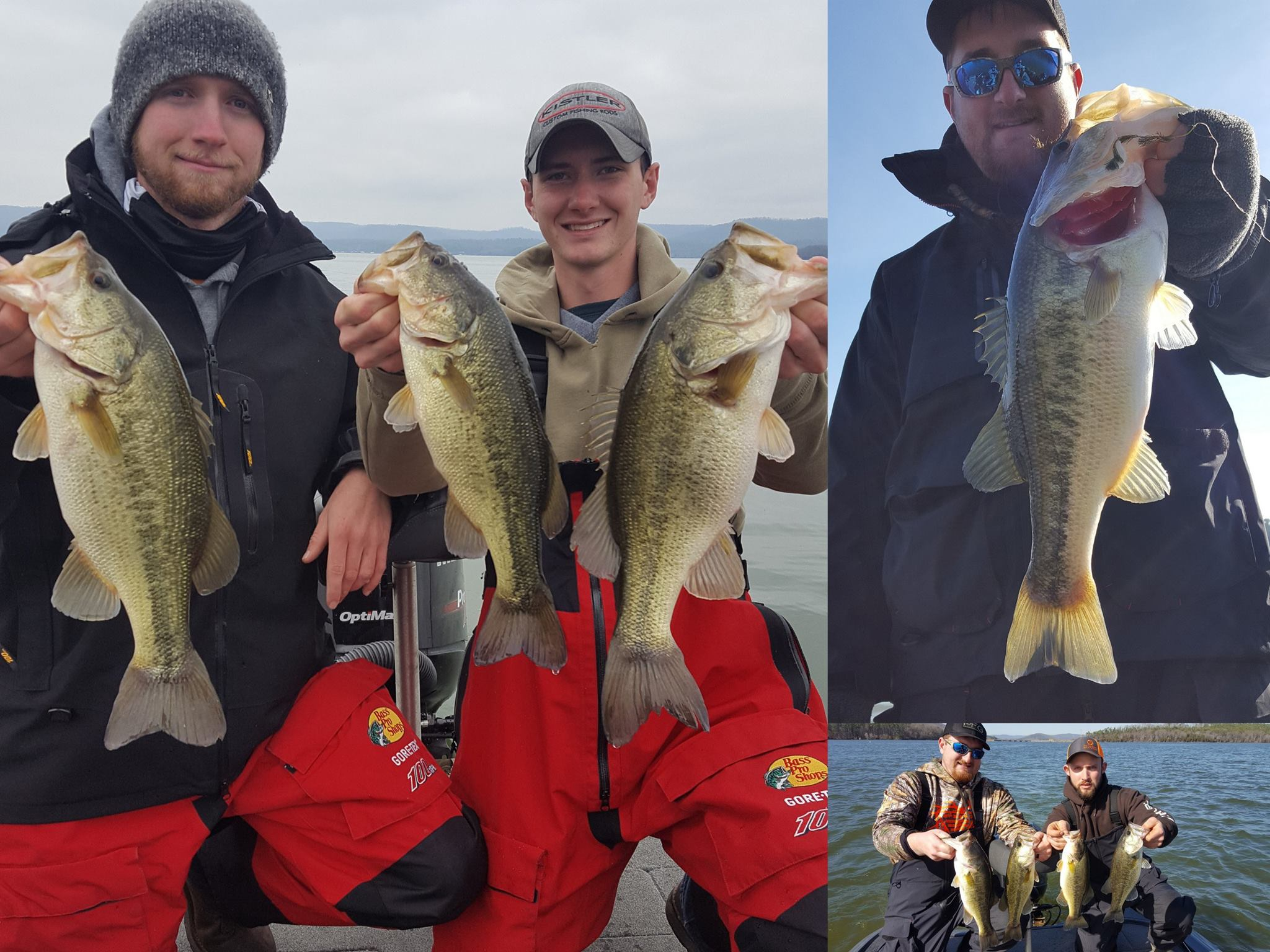 Guntersville lake 7 feb 2017 for Tennessee fishing report