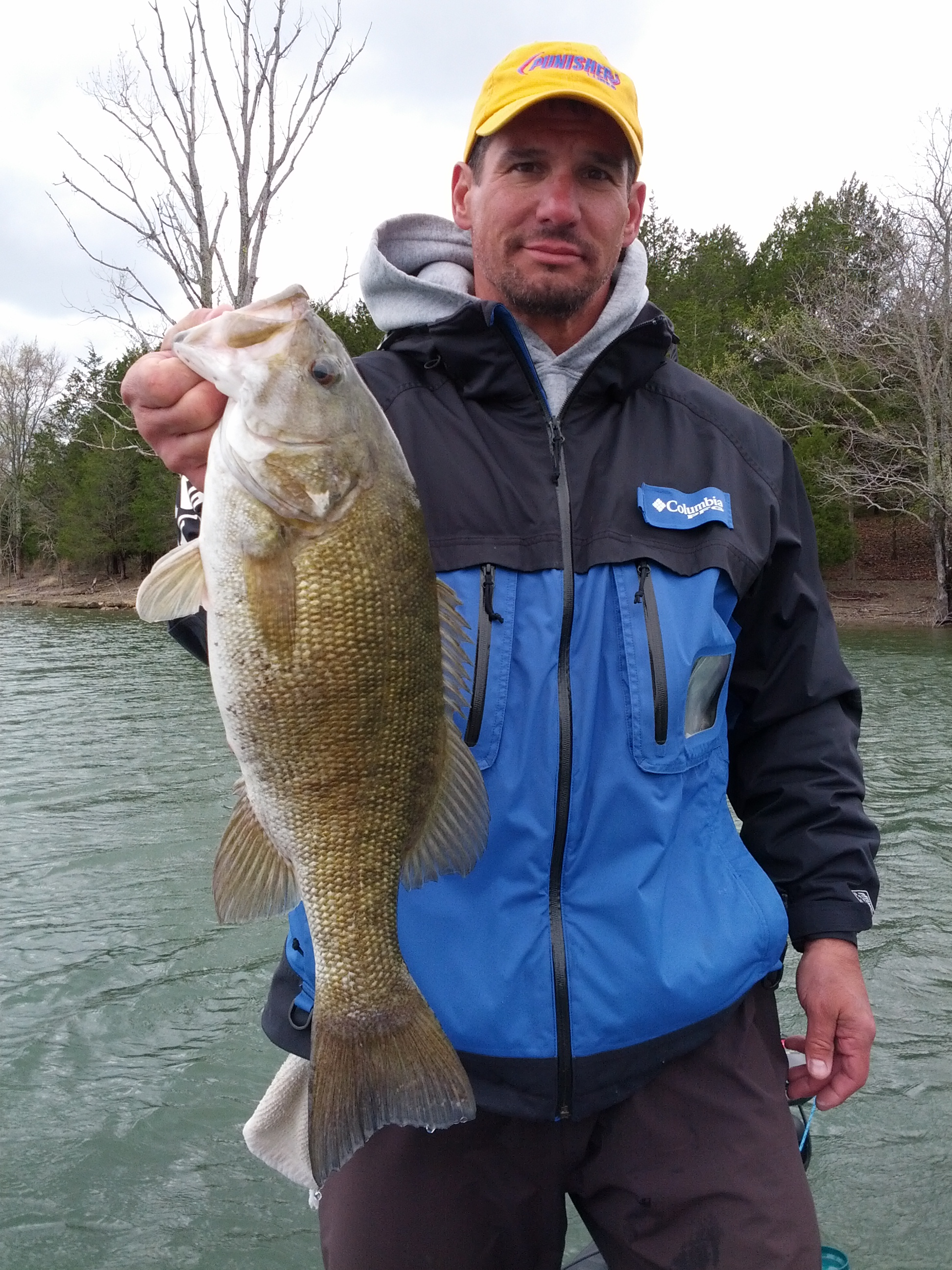 If you catch it report it for Reelfoot fishing report