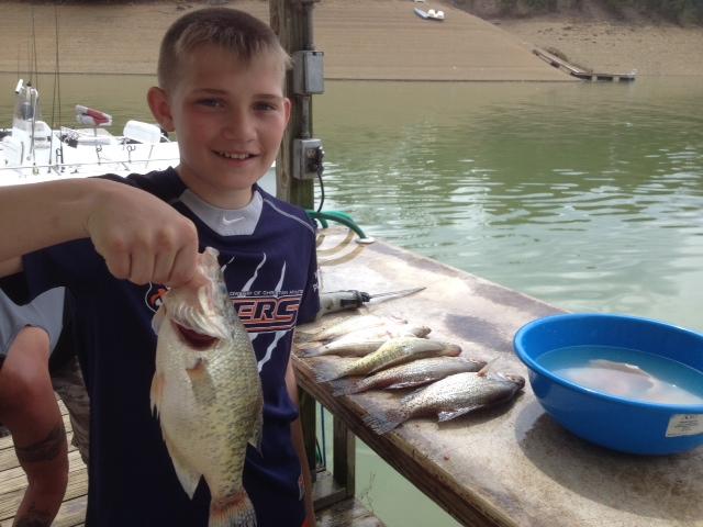 Tn for Twra fishing report