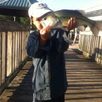 Dylan's First Largemouth - Boone Lake -Winged Deer Park