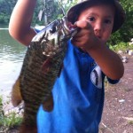 Dylan's Smallmouth from Boone Lake near Jay's Boat