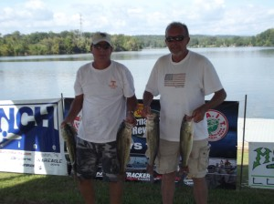 1st and LM Lunker - Dan Zerick (left) Cliff Rowland (right)