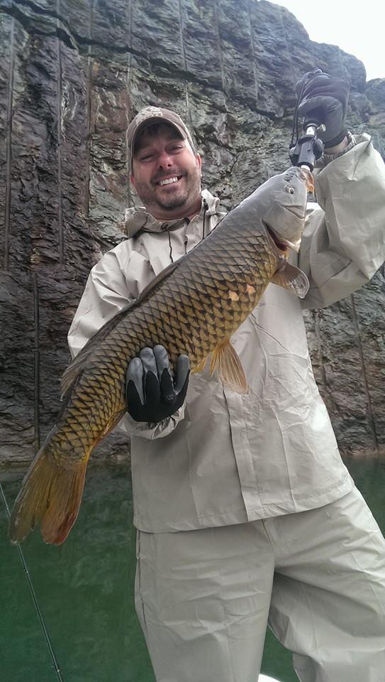 Shane carp for Carters lake fishing report