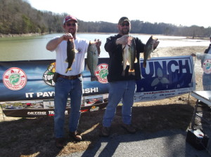 1st place (Sunny DeFOE left Rusty Satterfield right)