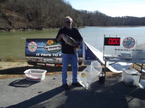 2nd place and lunker (Cliff Rowland pictured)