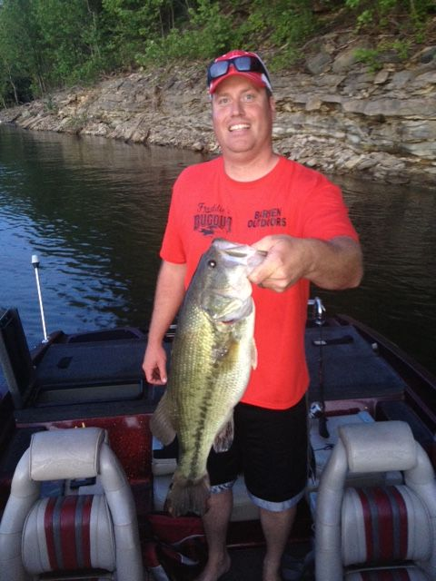 Barren river lake bass for Kentucky fishing report