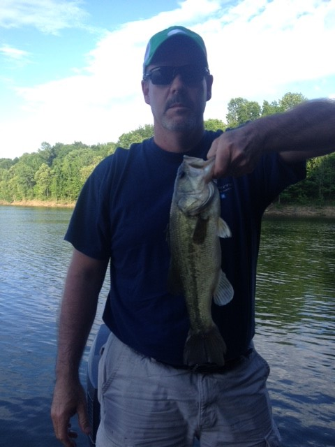 Brian dillon s first tournament fish for Kentucky lake fishing report