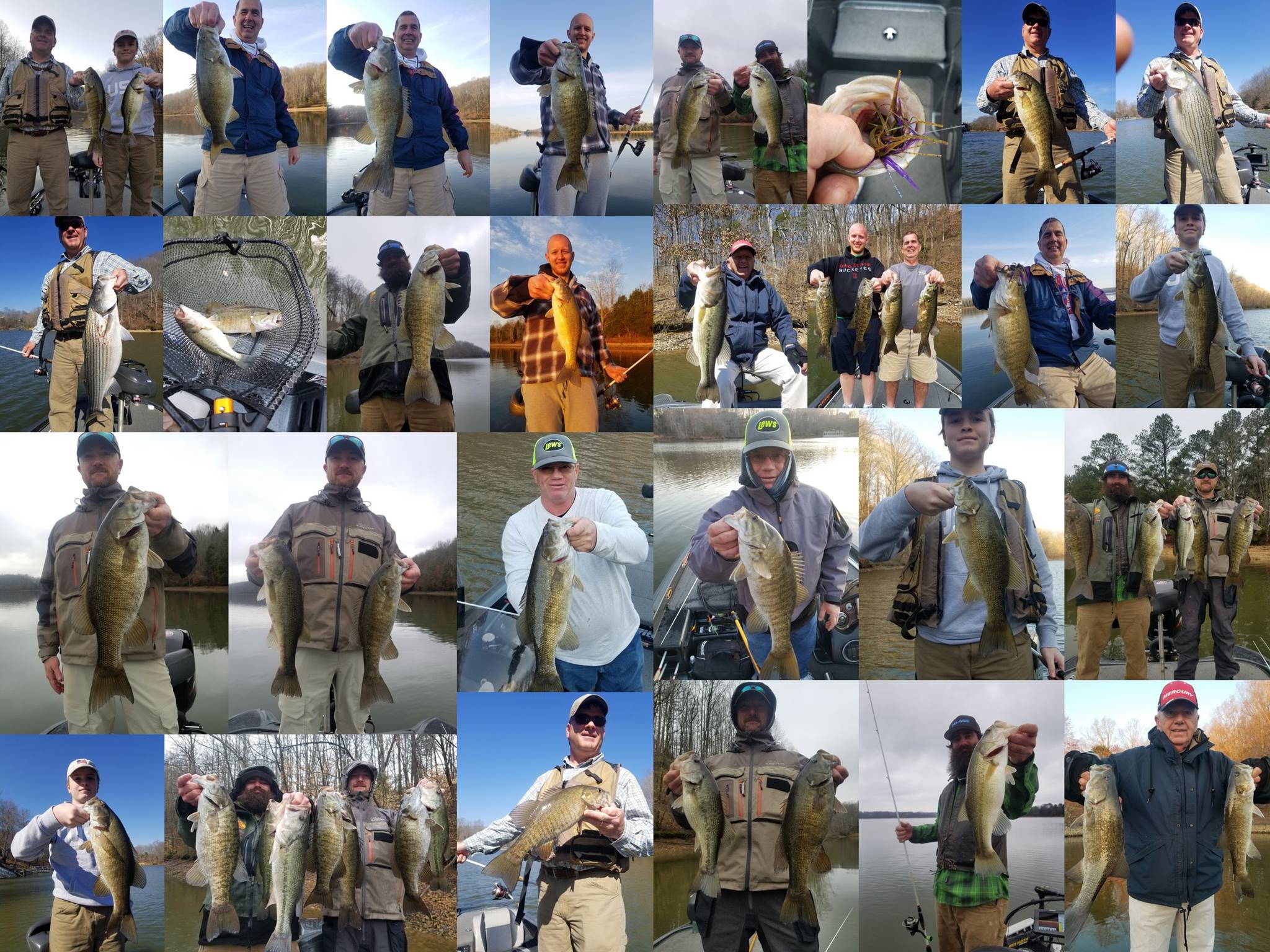 Tim s ford fishing report 20 mar 2018 for Tims ford lake fishing report